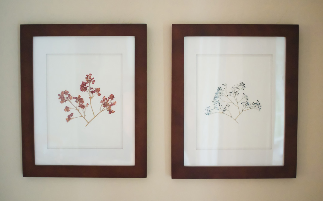 How to Create Pressed Flower Art