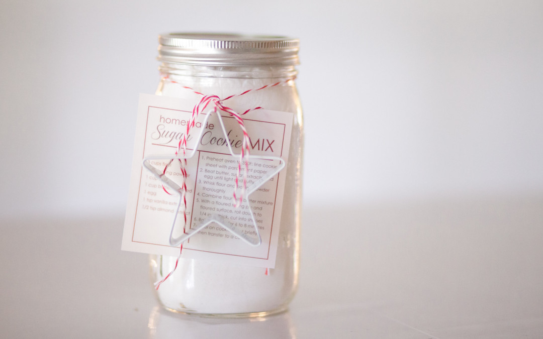 Homemade Sugar Cookie Mix in a Jar